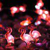 LED String Lights 3M 40LED Flamingo Shaped Home Decoration LED Lights - RED
