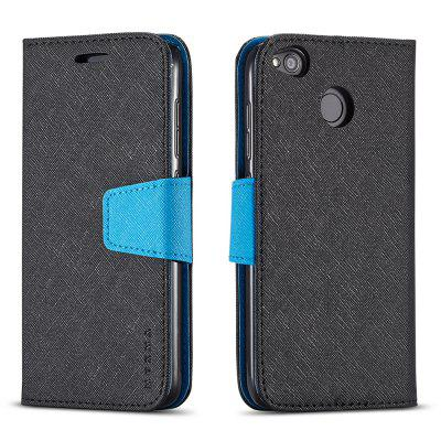 Cover Case For Xiaomi Redmi 4X Multifunktional Canvas Design Flip PU Leather Wallet Case