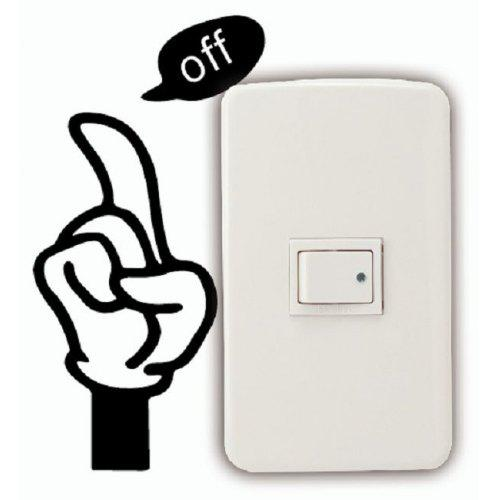 Novelty Kid/'s playing with Balloon Light Switch//Laptop//Tablet//Car Small Sticker