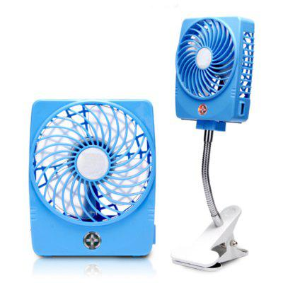 Portable Usb Mini Powered Clip Desk Personal Cooling Fan