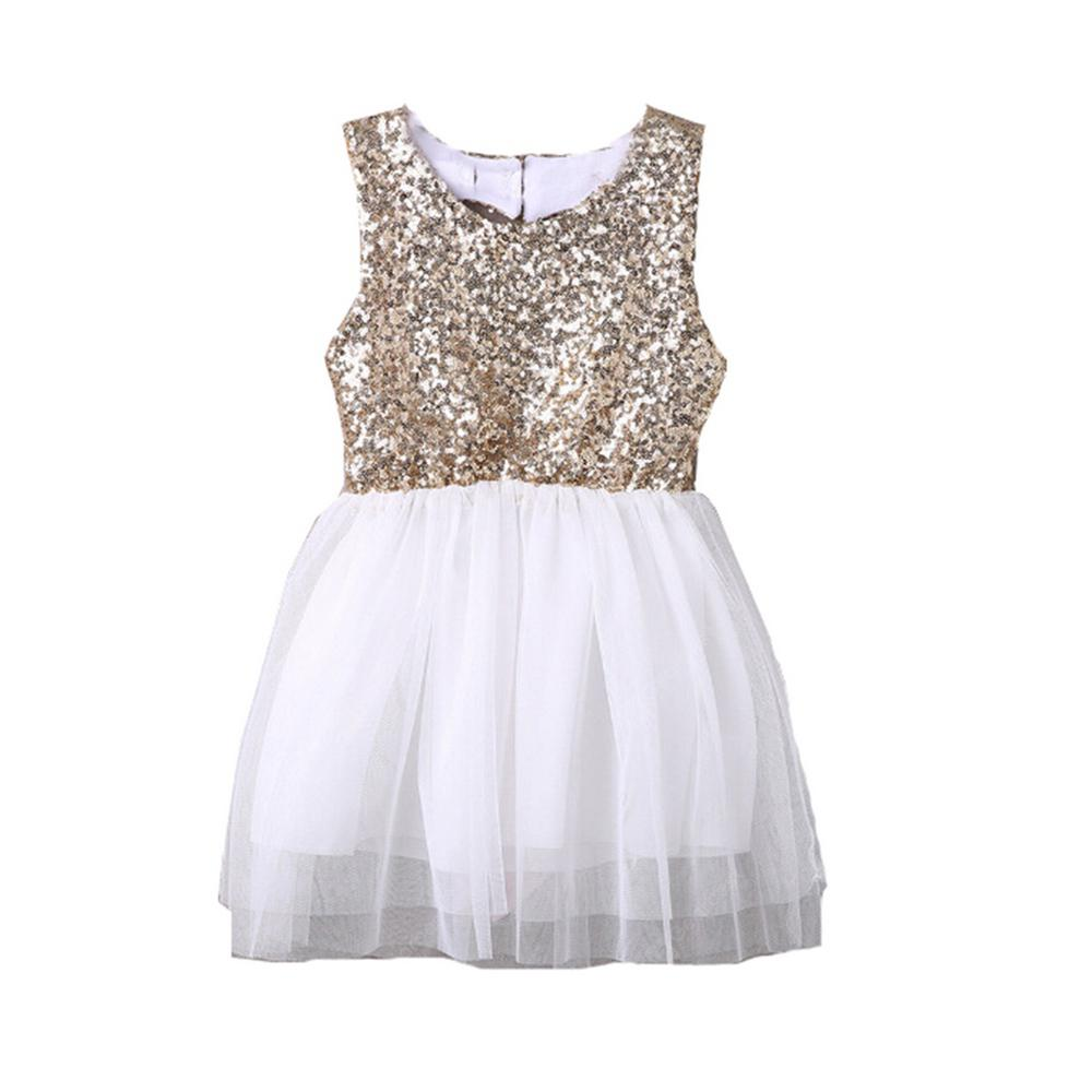 New Type Sequined Halter Dress