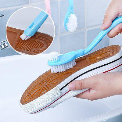 Long Handle Shoe Brush Cleaner Washing Toilet Lavabo Pot Dishes Home Cleaning Toos Sneakers Shoe