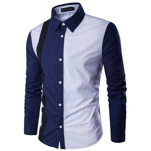e23ab64596d Gearbest USA  New Men s Business Casual Long-Sleeved Shirt -  20.02 ...