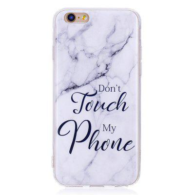 Marbling Phone Case For iPhone 6 / 6S Case Trend Fashion Soft Silicone TPU Cover Cases Protection Phone Bag new fashion design reborn toddler doll rooted hair soft silicone vinyl real gentle touch 28inches fashion gift for birthday