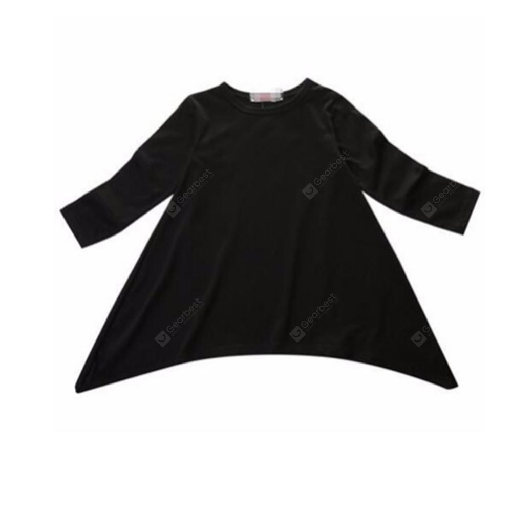 Middle Child 360 Degree Rotary Long Sleeve Cotton Dress