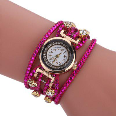 Khorasan Rhinestone Hot Women Bracelet Watch