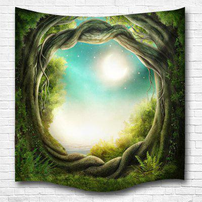Fantasy Forest 3D Digital Printing Home Wall Hanging Nature Art Fabric Tapestry for Bedroom Living Room Decorations fantasy forest hole pattern wall decor tapestry