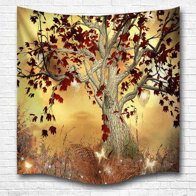 Elf Tree 3D Digital Printing Home Wall Hanging Nature Art Fabric Tapestry for Bedroom Living Room Decorations