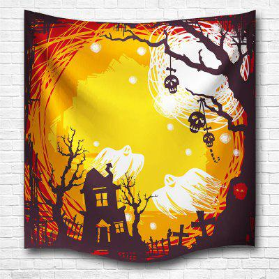 The Skeleton Ghost 3D Digital Printing Home Wall Hanging Nature Art ...