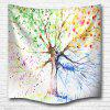 Multicolor Tree 3D Digital Printing Home Wall Hanging Nature Art Fabric Tapestry for Bedroom Living Room Decorations - COLORMIX