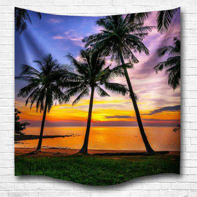 Sunset 3D Digital Printing Home Wall Hanging Nature Art Fabric Tapestry for Bedroom Living Room Decorations