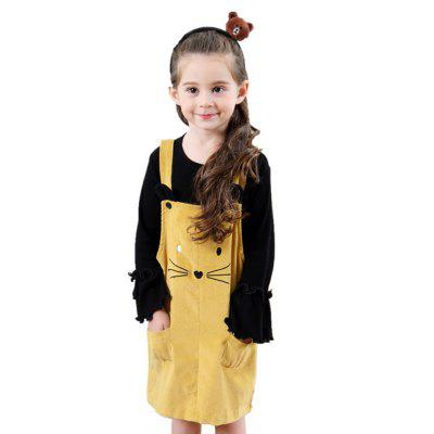 New Fashion Suspender Dress for Girl