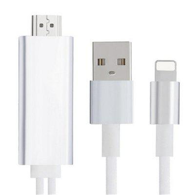 2 in 1 Creative 8 Pin 2M for ipad iPhone 6 6s 7 Plus to HDMI + USB Cable HDTV Adapter for iPhone 5S 5 SE адаптер для мобильных телефонов for iphone 2 1 iphone 6 5 5s iphone 4 samung usb v8 ios 8 8 30 v8 30 8pin