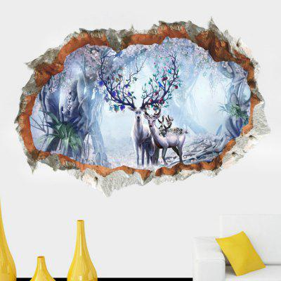 3D Wall Stickers cameră de zi impermeabil detașabile Home Decor