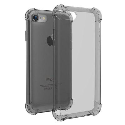 Crystal Clear Shockproof Ultra Thin Tpu Case Capa para o iphone 7/8