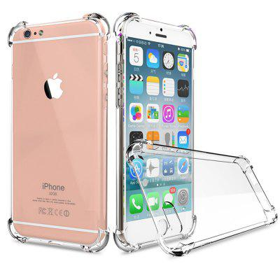 Crystal Clear à prova de choque ultra fino caso capa TPU para iPhone 6 / 6s