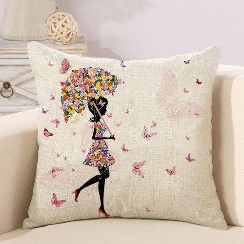 Awesome Beauty Flower And Butterfly Decoration Couch Pillow Case For Bedroom Forskolin Free Trial Chair Design Images Forskolin Free Trialorg