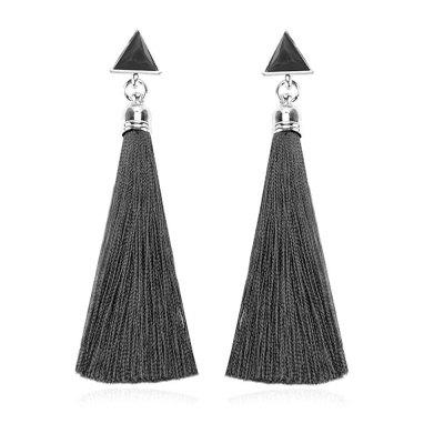 Women's Gilrs Casual Tassel Pendant Trendy Drop Earrings Fashion Jewelry Gifts