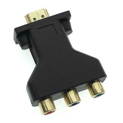 Adapter wideo Cwxuan 1080P HDMI do AV CVSB
