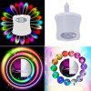 16 Color LED Motion Sensing Automatic Bathroom Toilet Night Motion Activated Lamp - WHITE