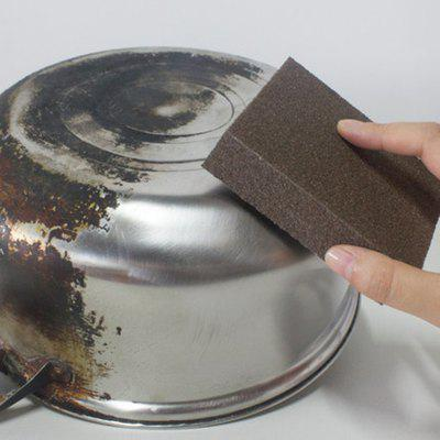 Large Area Carborundum Fine Flexible Descaling Clean Magic Brush Sponge