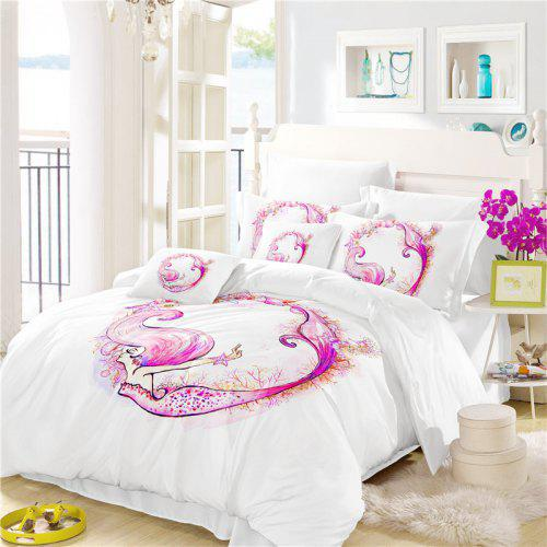 9bf2daedb34f Embroidered Marine Mermaid Series Three or Four Pieces Bedding Set -  87.23  Free Shipping