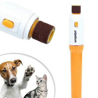 Pet Dog Cat Nail Grooming Grinder Trymer