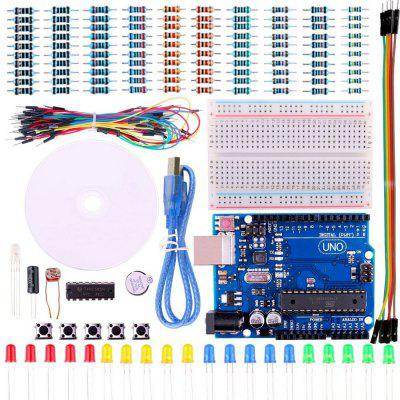 UNO Project Basic Starter Kit with Tutorial and UNO R3