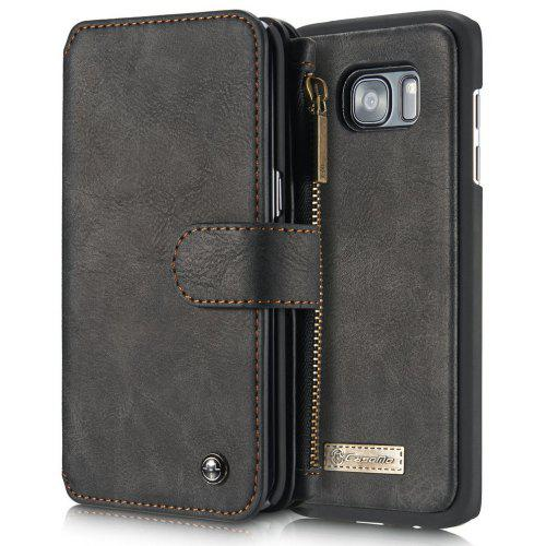 new concept 50917 0dd9b CaseMe for Samsung Galaxy S7 Edge PU Leather Wallet Case with 14 Credit  Card Slot Magnetic Closure Flip Detachable Cover