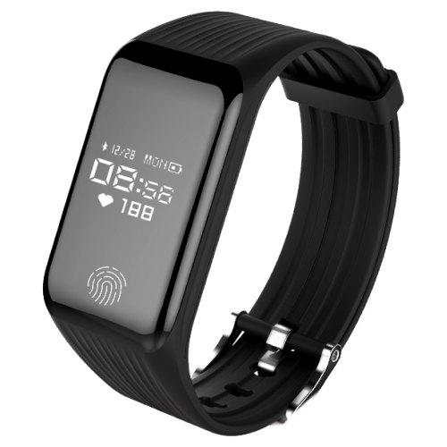 Fitness Smart Band Continuous Heart Rate Monitor Activity Tracker Bracelet Sleep Step Counter