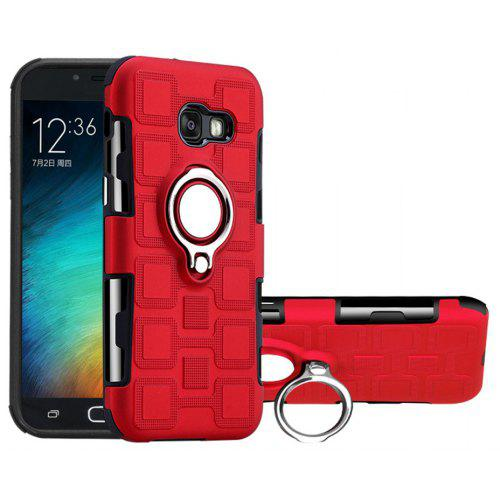 Cover Case for Samsung Galaxy A5 2017 Car Holder Stand Magnetic Suction Finger Ring PC+
