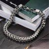 Mens Bracelets Bangles Stainless Steel Wrist Band Hand Chain Jewelry - SILIVER