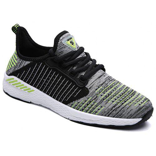 d16f74120 Sports Mesh Breathable Knitting Light Leisure Running Shoes | Gearbest