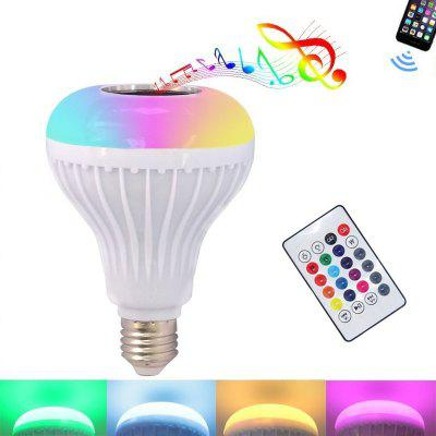 1PC 3 Generations Smart Bluetooth 4.0 Music Speaker Lamp LED Bulb E27 Intelligent Light Holiday Party Decoration Gift