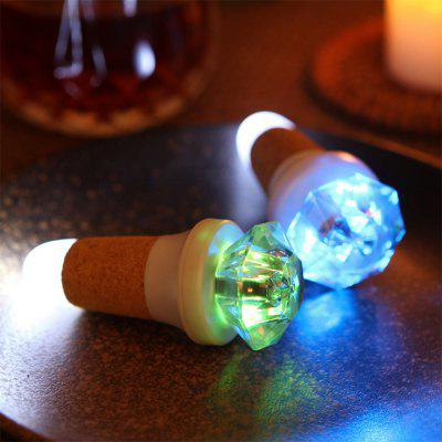 BRELONG LED  Bottle Light USB Charging Glowing Wine Bottle Stopper 2PCS
