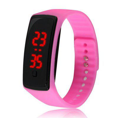 V5 Fashion LED Digital Watch kinderen siliconen horloge
