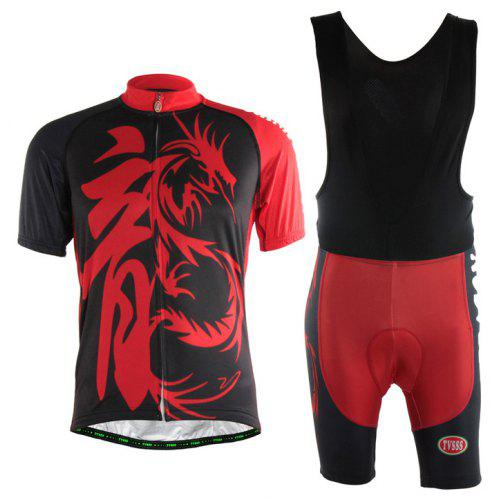 dc24c1292 TVSSS Men Summer Chinese Dragon Pattern Short Sleeve Jersey -  47.20 Free  Shipping
