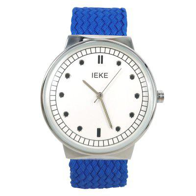 IEKE 88005 Women Fashion Knitted Strap Quartz Creative Watches
