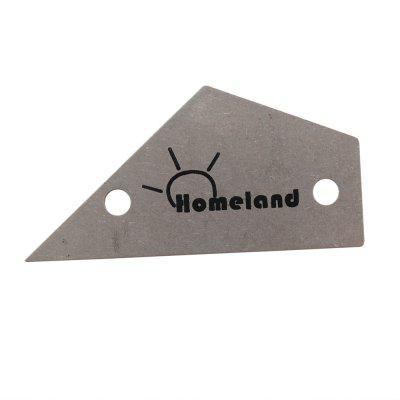 Homeland Guitar Bass Fret Leveling Ruler / Rocker / Level Luthier Tool