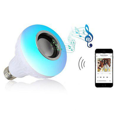E27 Smart RGBW Bluetooth Speaker Bulb Music Playing