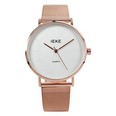IEKE 88014 Fashion Steel Quartz Creative Ladies Watches