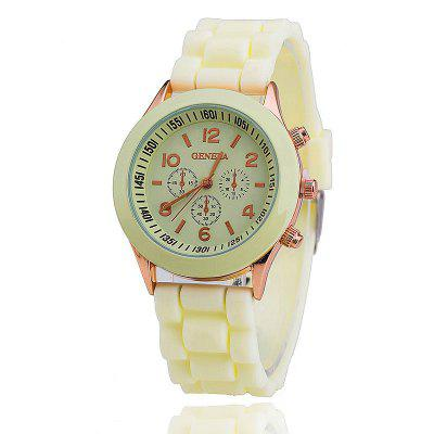 Geneva Female Fashion Quartz Watch