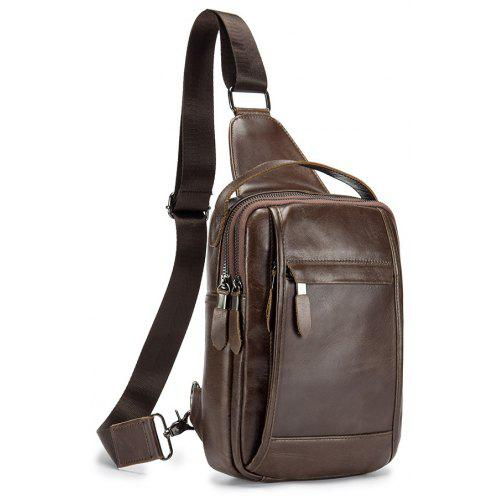 fcbe7333d345 2018 New Design Men Bags Famous Brand Design Genuine Leather Chest Bag -   35.10 Free Shipping