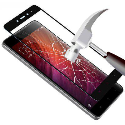 HD Clear Full Coverage Automatic Adsorption Tempered Glass for Xiaomi Redmi Note 4