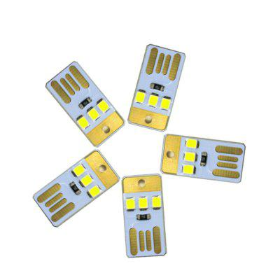 5 SZTUK YWXLight 2835SMD USB LED Lampka nocna Laptop LED Chip Lamp DC 5V
