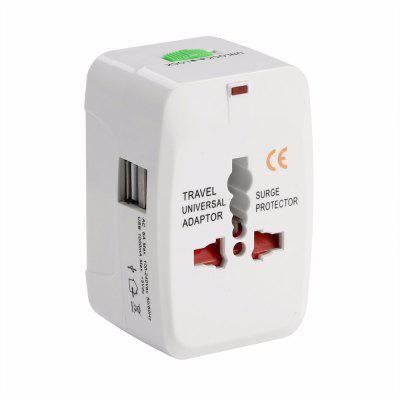 Safety Universal Travel Adapter UK / USA / EU / CN Adapter / Wtyczka podróżna i gniazdo