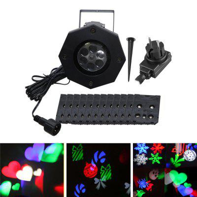 Refurbished YWXLight LED Projection Lights Snowflake Christmas Light Outdoor Lighting AC 100 - 240V