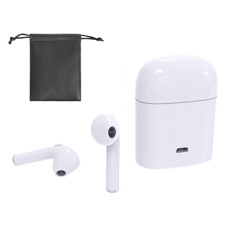 Bluetooth Headset  Wireless Earbuds Stereo Earphone with Storage Bag