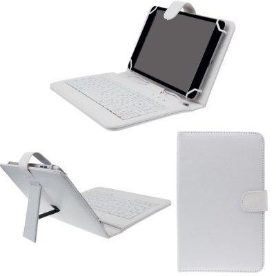 PU Leather Case Keyboard Flip Holster for Smartphone 7 inch Mobile Phone Cover lx lp200 pump wet end cover 7 inch only serial no b351 03