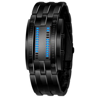 Fashion Stainless Steel LED Digital Waterproof Wrist Watches